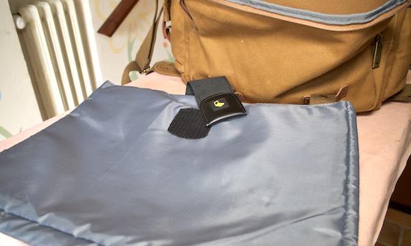 interno protezione laptop borsa tracolla messenger evecase