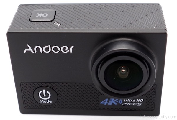 lente action cam andoer an5000