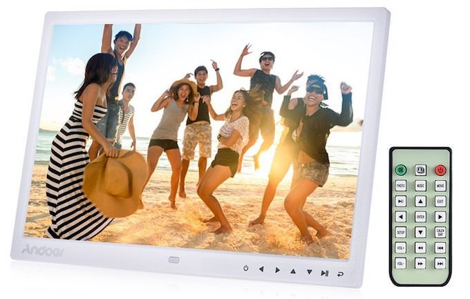 "recensione andoer 15"" tft cornice digitale 1280x800 hd"
