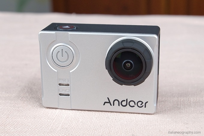 recensione andoer an7000 action cam