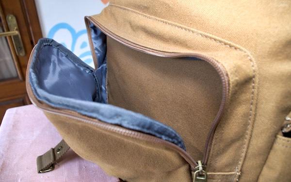 sacca frontale impermeabile borsa tracolla messenger evecase