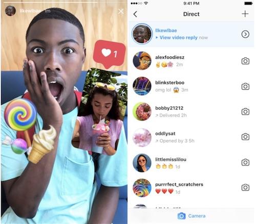 usare fotocamera instagram per rispondere alle stories