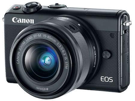 caratteristiche canon eos m100
