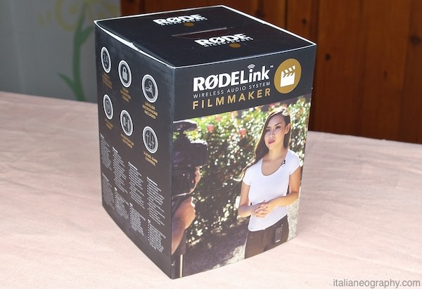 confezione intera rodelink filmmaker kit microfono wireless