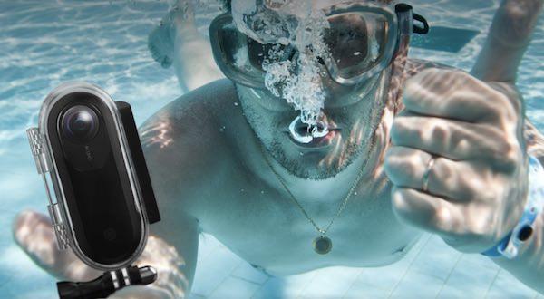insta360 one subacquea