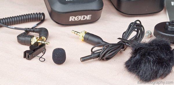 microfono lavalier rodelink filmmaker kit