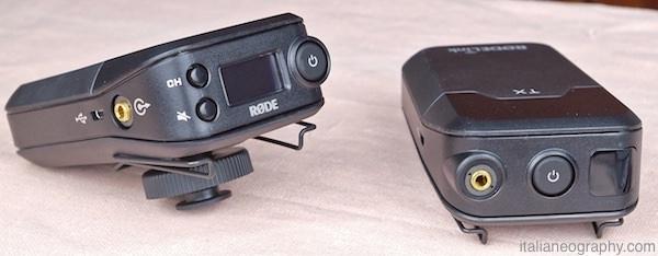 trasmettitore e ricevitore rodelink filmmaker kit microfono wireless