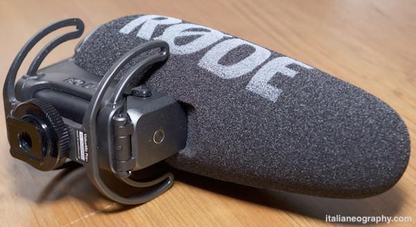 caratteristiche microfono rode videomic pro plus