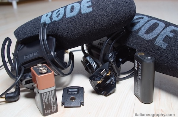 differenze batterie videomic pro rode