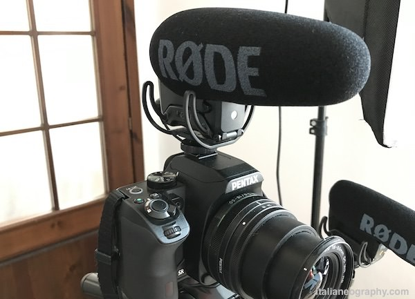 microfono rode videomic pro plus reflex