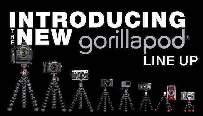 nuova linea joby gorillapod