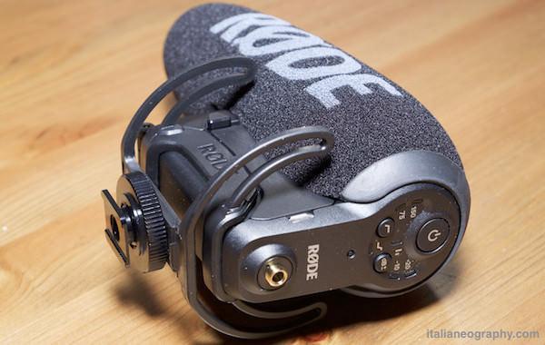 pulsanti comandi videomic pro plus