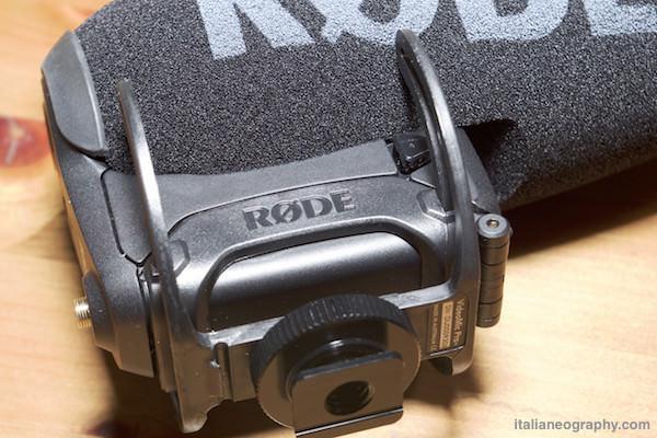sospensioni ricotte rode videomic pro plus