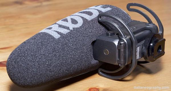 specifiche microfono rode videmic pro plus