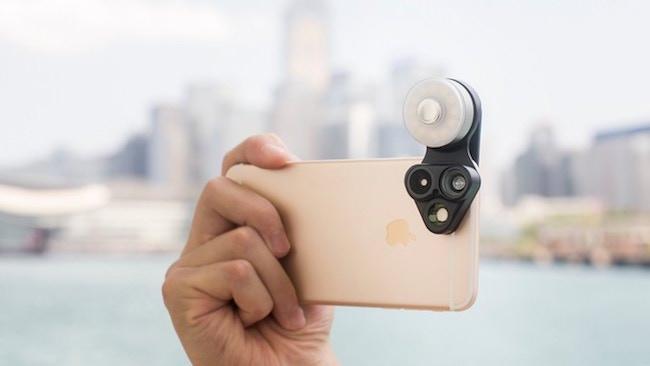 caratteristiche revolcam lenti luce led per smartphone