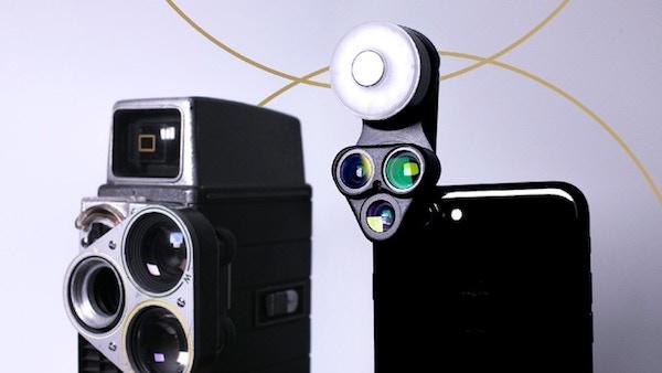 revolcam 3 in 1 lenti smartphone