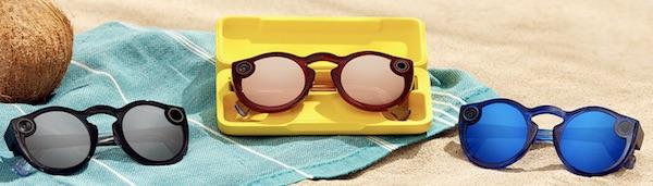 nuovi occhiali snapchat colori