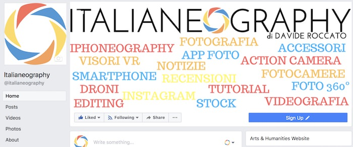 facebook italianeography
