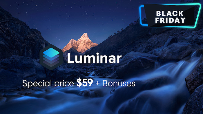 luminar black friday