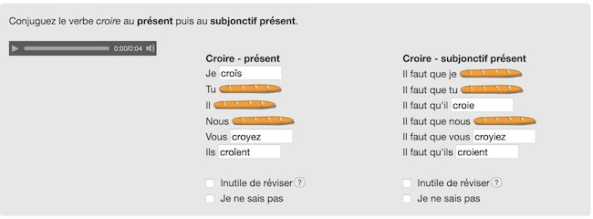 coniugare verbi francese metodo online