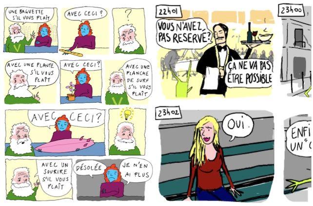 imparare francese fumetti frantastique