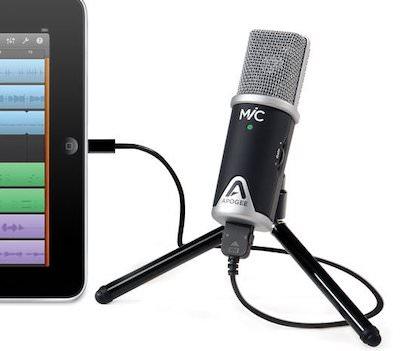 Apogee mic 96k microfono ipad