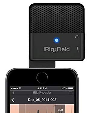 iRig Mic Field audio