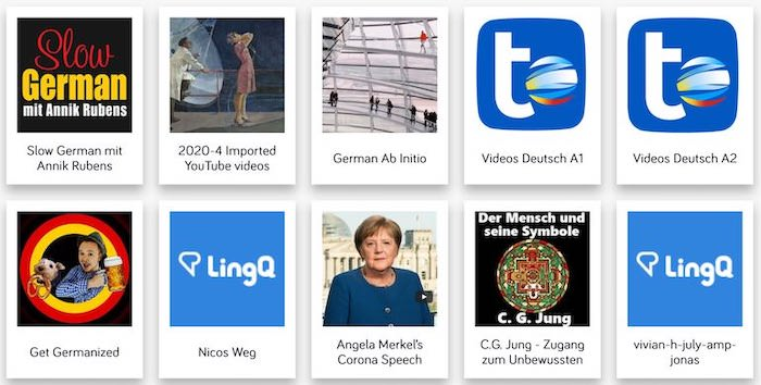 programma lingq studiare tedesco leggendo